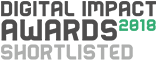 Digital Impact Awards 2018 Shortlisted